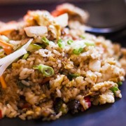 Fried Rice with Sauteed Chicken Fillet in Japanese Yakiniku Sauce - Causeway Bay