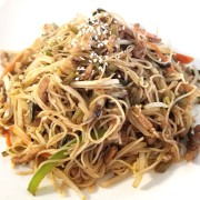 Fried Rice Noodles with Minced Pork & Pickled Cabbage - Causeway Bay