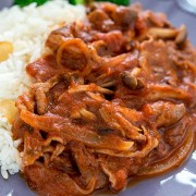 Baked Wild Mushroom & Beef with Rice or Spaghetti - Causeway Bay