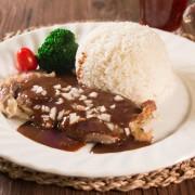 Chicken Steak in Black Pepper Sauce with Rice or Spaghetti - Causeway Bay
