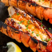 Baked Lobster with Mozzarella Cheese Cream Sauce - Causeway Bay