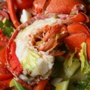 Deluxe Lobster Salad - Lobster approx. 2kg - Fruit Salad approx. 5lbs - Causeway Bay