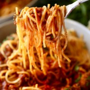 Baked Cheese with Rice Bolognese or Spaghetti Bolognese - Causeway Bay