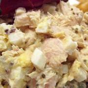Tuna & Egg Salad Sandwich with Cheese - Causeway Bay