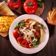 鮮茄濃湯營養餐