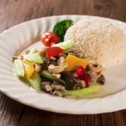 Sauteed Vegetable - Celery - Mushroom and Cashew Nut - Causeway Bay