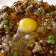 Minced Beef with Egg with Rice - Causeway Bay