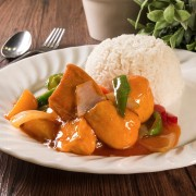 Sweet and Sour Tofu and Diced Pineapple - Causeway Bay