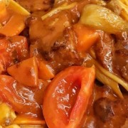 Tomato and Pork Chop or Steak or Chicken Steak with Rice or Spaghetti - Causeway Bay