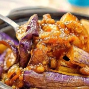 Stewed Eggplant & Dried Fish in Sizzling Claypot - Causeway Bay