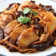 Steamed Chicken with Dried Vegetable - Causeway Bay