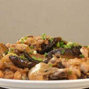 Steamed Chicken with Black Mushroom - Causeway Bay