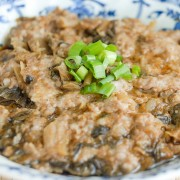 Steam Pork Patty with Squid or Preserved Egg or Salted Fish or Pickled Cabbage - Causeway Bay